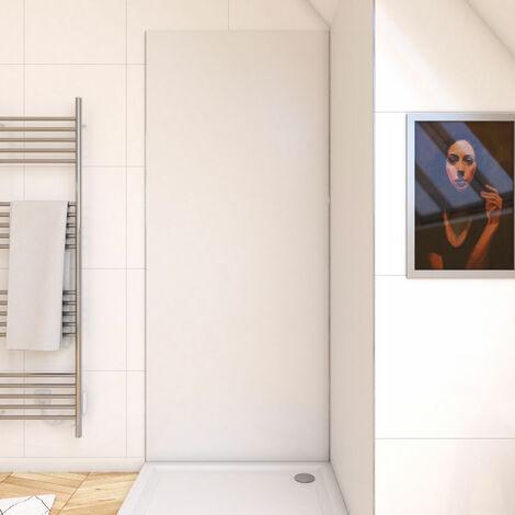Panneau mural de douche BLANC en aluminium - 90 x 210 cm - WALL\'IT BLANC 90