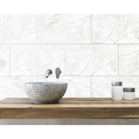 Panneau Mural Innovera Carrara Marble Tongue&Groove decorative wall Tile