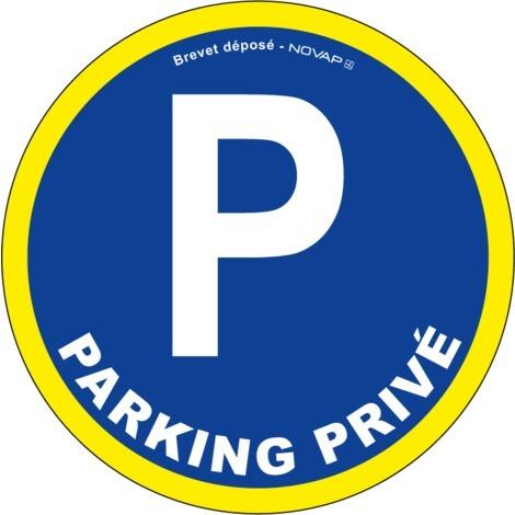 """main image of """"Panneau Parking privé - haute visibilité - Novap"""""""