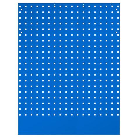 Panneau perforé pour meuble d'angle bleu - 798 x 24 x 1 052 mm - -