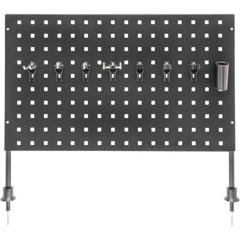Panneau perforé vertical pour servante d'atelier 179N HAZET 1 PCS
