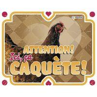 Panneau photo poule vintage2 FR