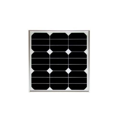 Panneau photovoltaïque monocristallin 30 Wc avec cables