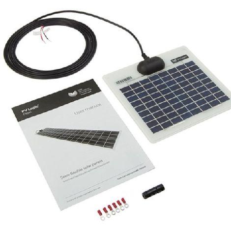 Panneau Photovoltaique semi rigide 5 Wc Solartechnology