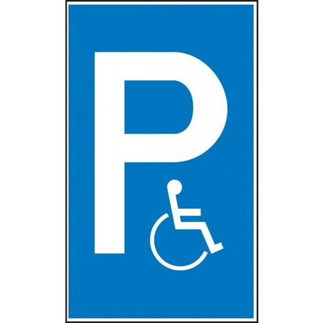 Panneau place de parking