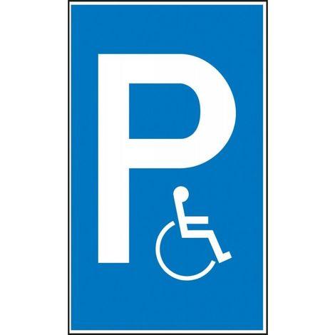 Panneau place de parking Alu 400x600mm