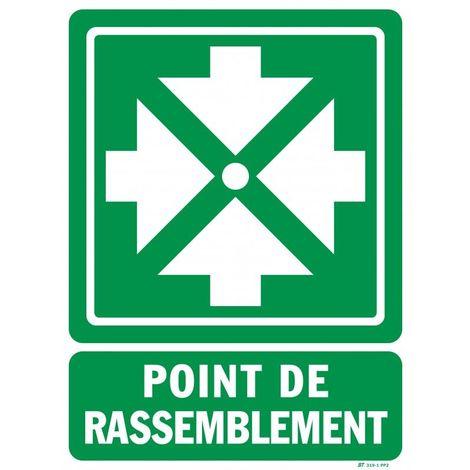 """main image of """"Panneau POINT RASSEMBLEMENT"""""""