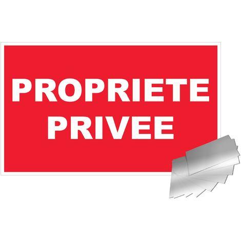 Panneau Propriété privée - Alu 330x200mm - 4010427