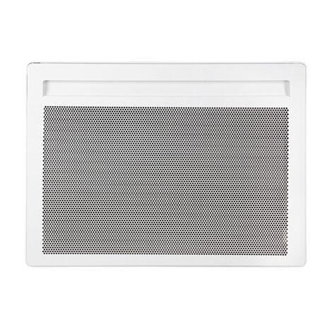 Radiateur électrique rayonnant Alliage Aluminium SOLIUS Blanc H450 L591 - 1000w