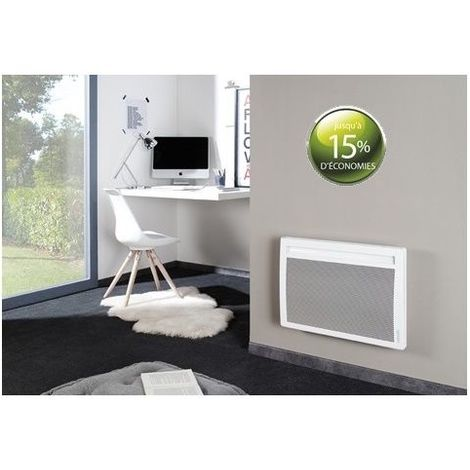 Panneau rayonnant blanc horizontal SOLIUS 750W