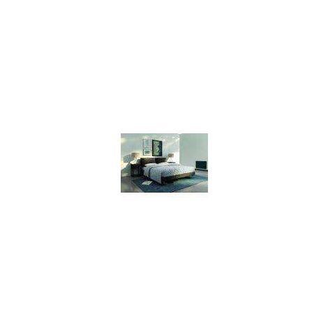 PANNEAU RAYONNANT CHAUFELEC EDISON GRIS SABLE (Gris sablé - Vertical - 1000 - 45X80X11,8 cm - Electronique Digital - 6 Ordres - Aluminium)