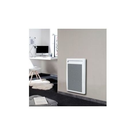 Panneau Rayonnant Vertical Solius 2000 W - Blanc - 1183 X 451 X 120 (mm) - Blanc