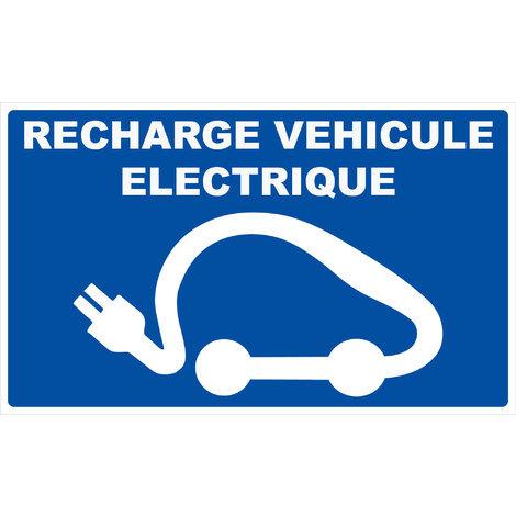 Panneau Recharge véhicule électrique - Rigide 330x200mm - 4162140