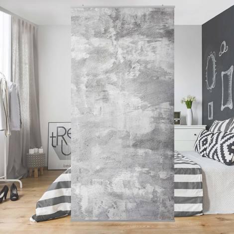 Panneau-rideau Industry-look concrete optics 250x120cm