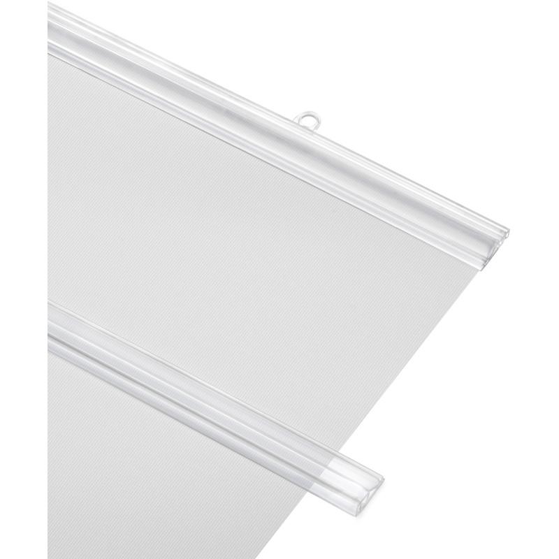 Apalis Rideau Coulissant s/éparateur despace fid/élit/é 250x120cm Support Transparent