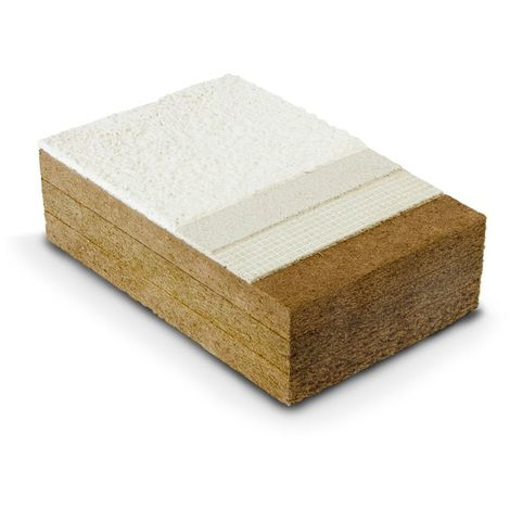 Panneau rigide en fibre de bois STEICO PROTECT L dry 100x1200x400 chant droit - panneau(x) de 0.48m²