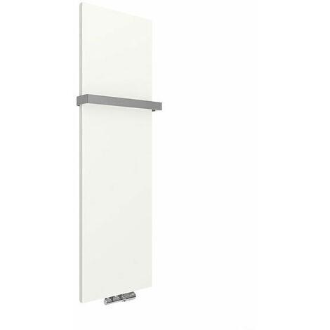 Panneau sèche-serviette - Chauffage Central - Blanc - Raccordement au centre - Case Slim/ZXB (plusieurs tailles disponibles)