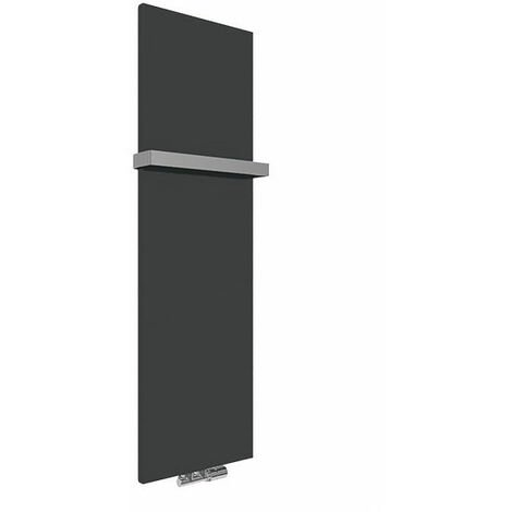 Panneau sèche-serviette électrique noir mat - Case Slim/E8N (plusieurs tailles disponibles)