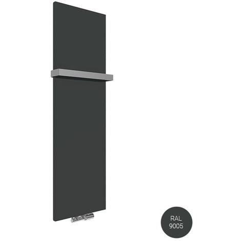 Panneau sèche-serviette - Mixte - Noir Mat - Case/Z1N (plusieurs tailles disponibles)