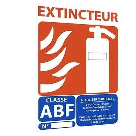 Panneau Signalétique Extincteur Abf