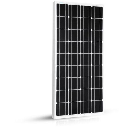 Panneau Solaire 100w-12v Monocristallin - 1200 x 510 x 35 mm - EcoWatt