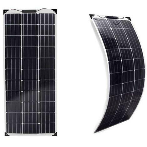 Panneau solaire 110w 12v Monocristallin souple-flexible-EcoWatt-Flex
