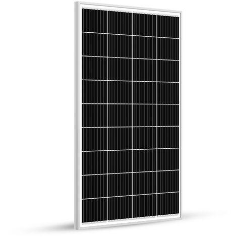Panneau Solaire 120w-12v Monocristalin-EcoWatt