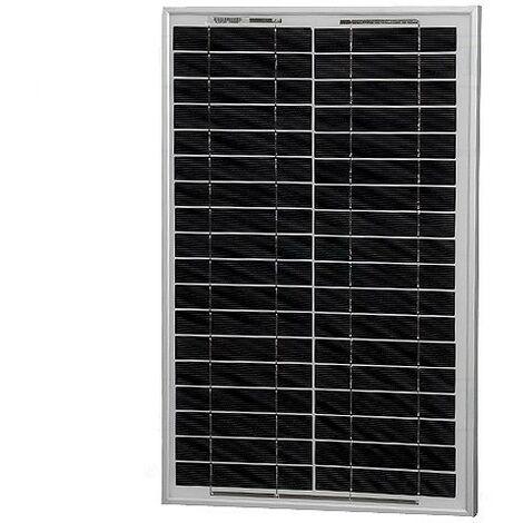 Panneau solaire 12vdc 20w 1,14amp Taille 505x353x25mm Mf-20w