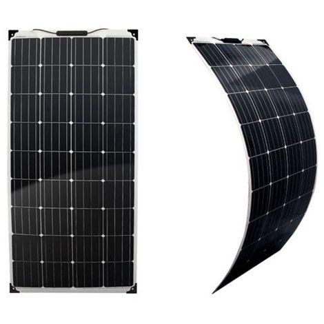 Panneau solaire 180w 12v Monocristallin souple-flexible-EcoWatt-Flex