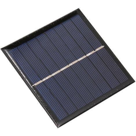 Panneau solaire 1W 4V, carte de charge, batterie rechargeable rechargeable 2 * AA 1.2V