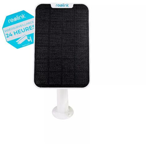 Panneau solaire 2020 nouvelle génération pour caméras Reolink - Alimentation continue / support réglable / Câble 4m