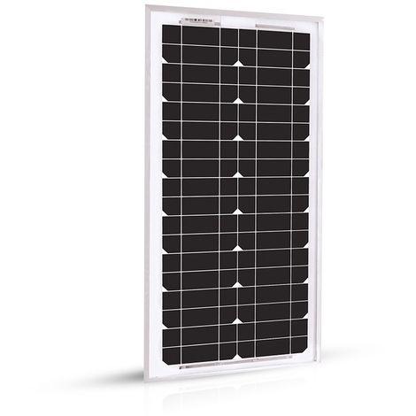 Panneau Solaire 20w-12v Monocristalin-EcoWatt