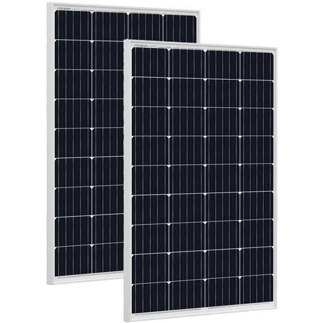 Panneau solaire 240W 2 * 120W et charge de la batterie du connecteur MC4 pour Caravan Home hors réseau