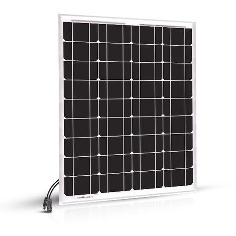 Panneau Solaire 40w-12v Monocristalin-EcoWatt