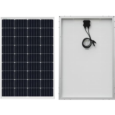 Panneau solaire mono 120W 18V Charge de la batterie de classe pour Caravan Boat Home hors réseau