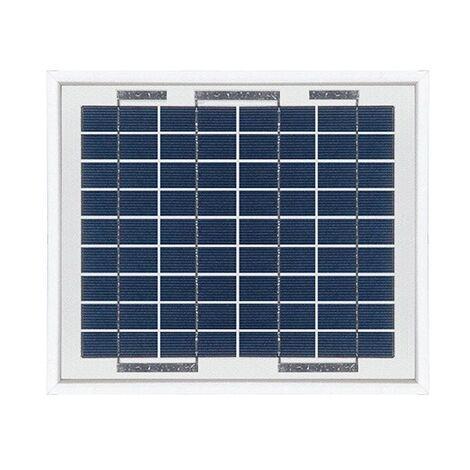 "main image of ""Panneau solaire polycristallin 5W 12V"""