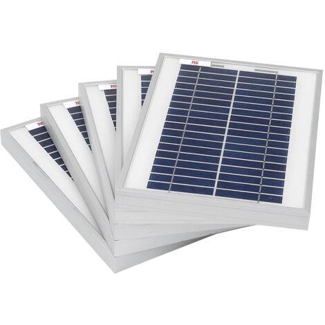 Panneau solaire, puissance 5W