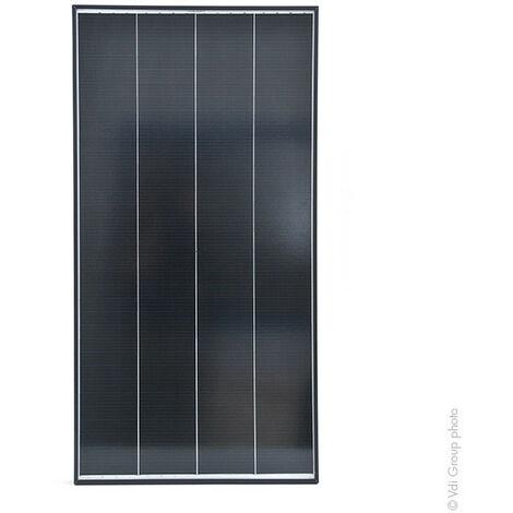 Panneau solaire rigide 100W-12V Monocristallin à Haut Rendement