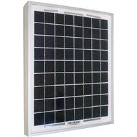 Panneau solaire Sellande 12V 10W monocristallin