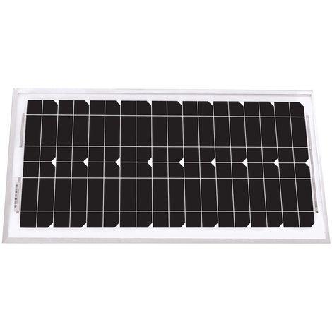 Panneau solaire unisun 20w - 12v monocristallin