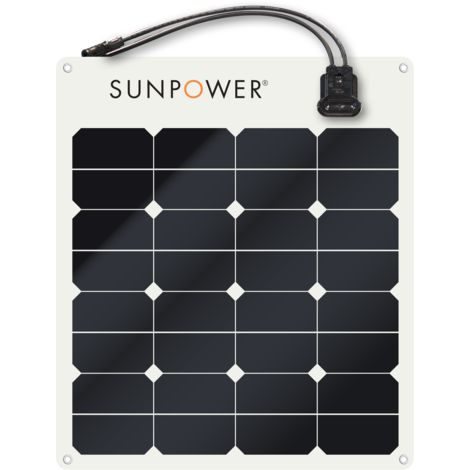 panneau souple Sunpower Maxeon® 50Wc