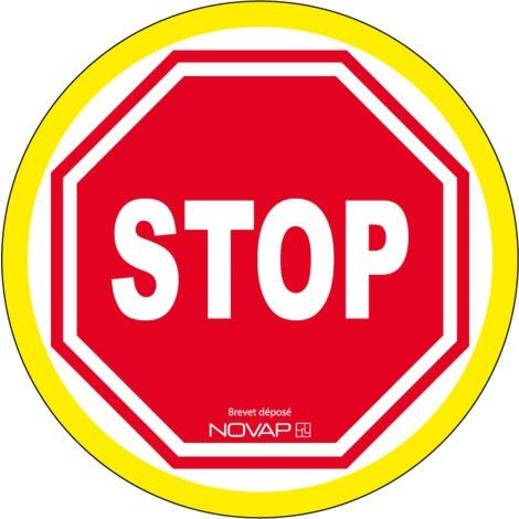 Panneau Stop - haute visibilité - Novap
