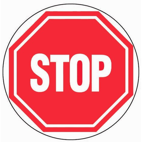 Panneau Stop - Novap