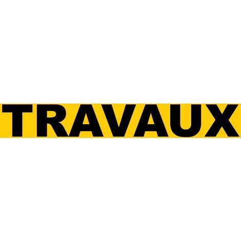 Panneau Travaux - Rigide 330x75mm - 4120935