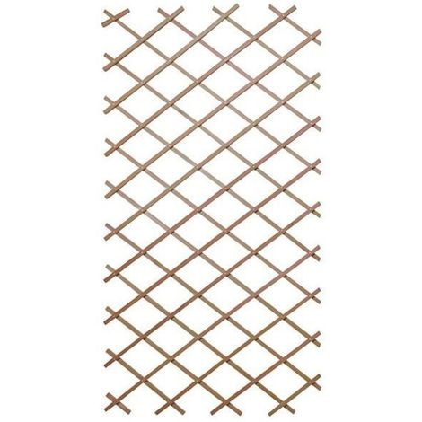 Panneau treillis en bois 90 x 180 cm