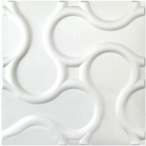 Panneaux 3D | nature | stuc | panneaux | 60x60cm | Rattan