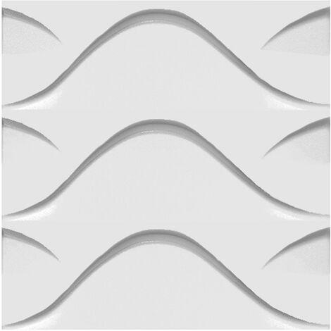 Panneaux 3D pack économique | panneaux de polystyrène | revêtement mural | EPS | 50x50cm | sol