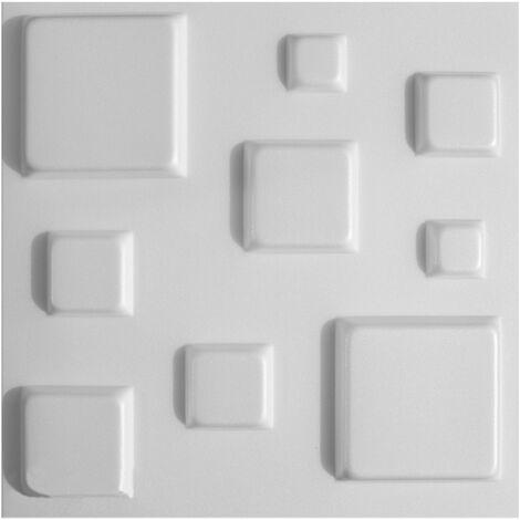Panneaux 3D Panneaux Polystyr/ène Mur Plafond Mural Plaques 50/x 50/cm Pyramid 5/M/²