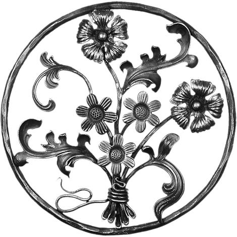 Panneaux floral Ø450