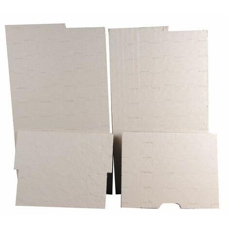 Panneaux isolants (pochette) - CHAFFOTEAUX : 60084050